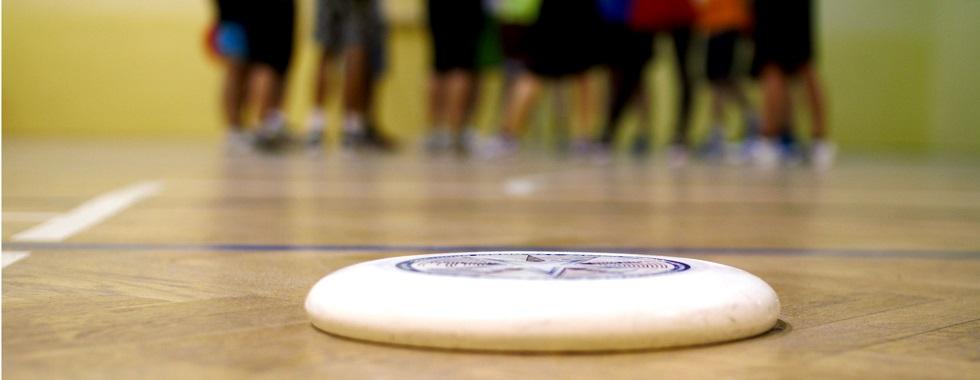 indoor ultimate frisbee